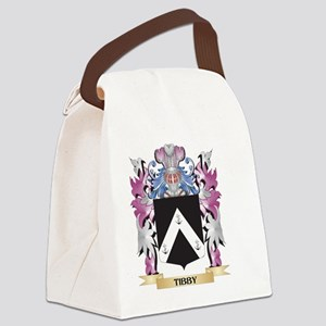 Tibby Coat of Arms - Family Crest Canvas Lunch Bag