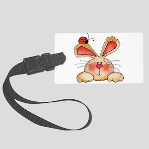 BUNNY EARS AND LADY BUG Luggage Tag