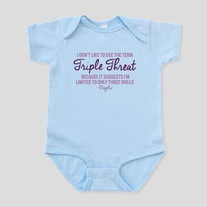 Jane The Virgin Triple Threat Infant Bodysuit