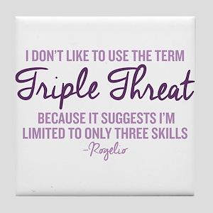Jane The Virgin Triple Threat Tile Coaster