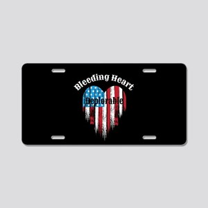 Bleeding Heart Deplorable Aluminum License Plate