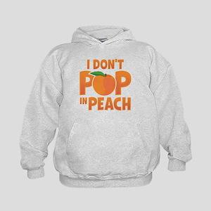 Jane The Virign: Peach Kids Hoodie