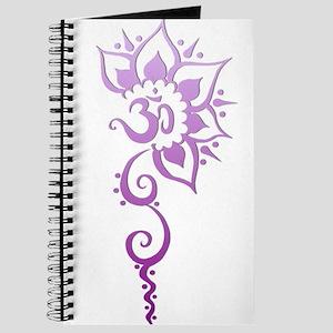 Rising Om - Purple Fade Journal
