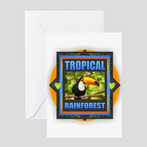 Rainforest Greeting Cards
