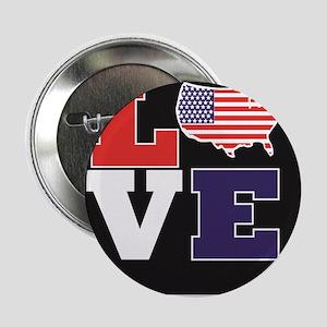"""Love America 2.25"""" Button"""