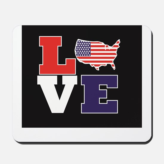 Love America Mousepad
