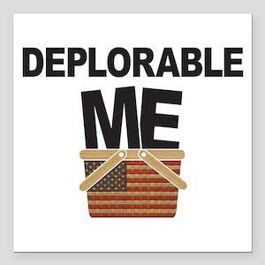 """Deplorable Me Square Car Magnet 3"""" x 3"""""""