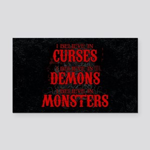 I Believe in Curses Rectangle Car Magnet