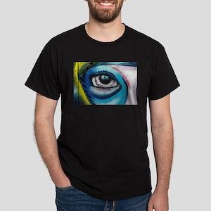 Blue Eye Graffiti T-Shirt
