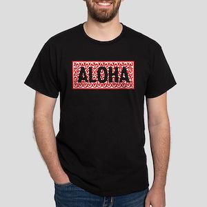 Perpetuate Aloha Mural Dark T-Shirt