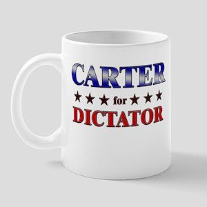 CARTER for dictator Mug