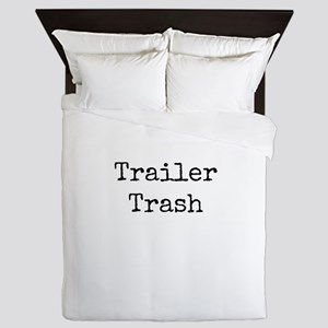 Trailer Trash Queen Duvet