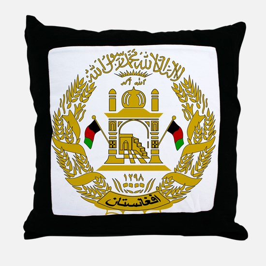 Unique Afghanistan Throw Pillow