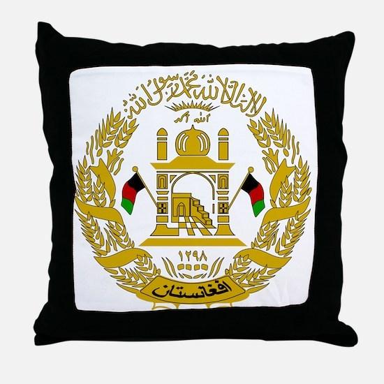 Cute Afghan Throw Pillow