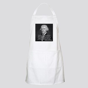 Thomas Jefferson BBQ Apron
