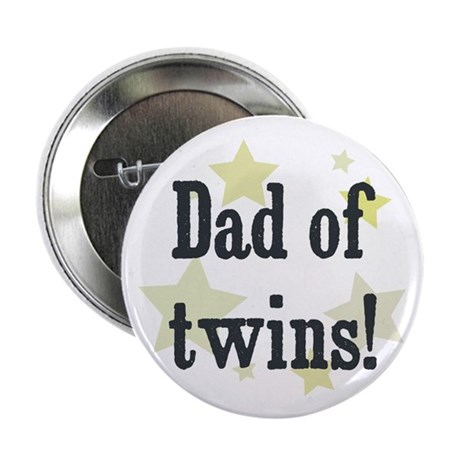 "Dad of twins! 2.25"" Button (10 pack)"