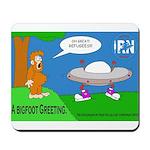 Bigfoot Greeting -Mousepad