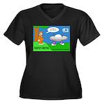 Bigfoot Greeting - Plus Size T-Shirt