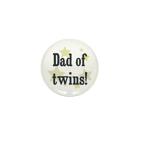 Dad of twins! Mini Button (10 pack)
