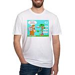Irn App Demands - Fitted T-Shirt