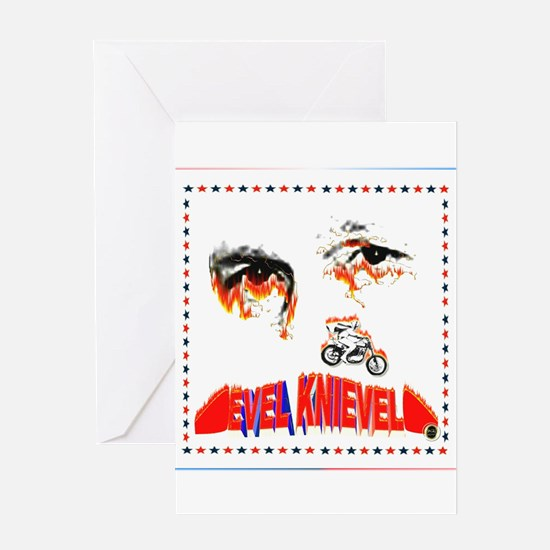 Evel Knievel Greeting Cards