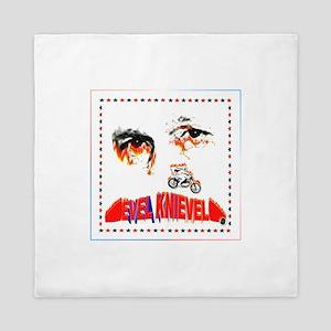 Evel Knievel Queen Duvet