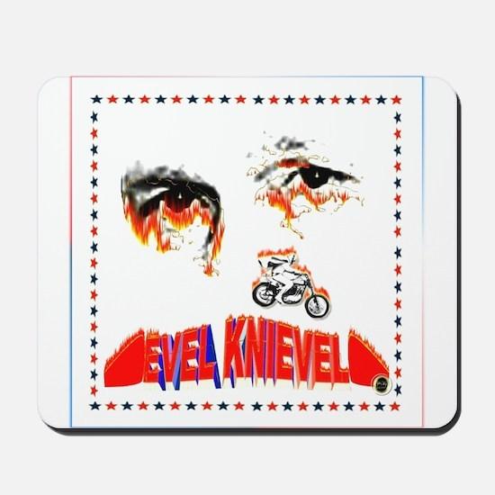 Evel Knievel Mousepad
