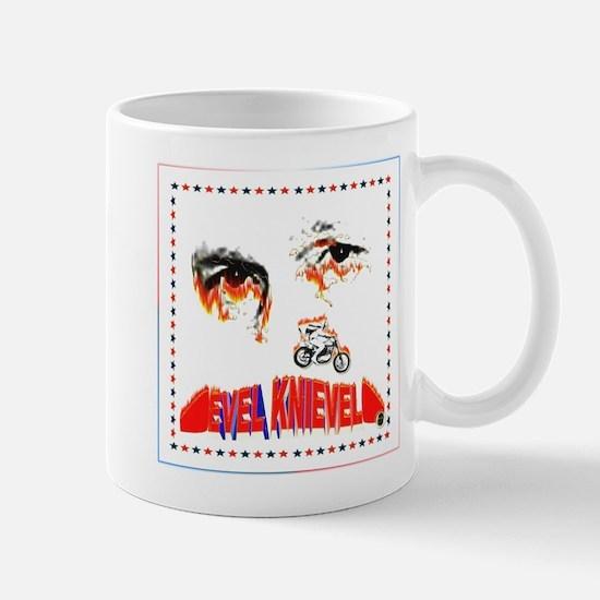 Evel Knievel Mugs