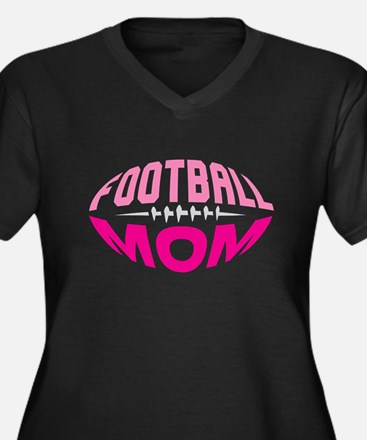 FOOTBALL MOM Plus Size T-Shirt