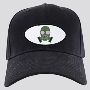 Army Gasmask Black Cap