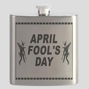 April Fools Day Flask