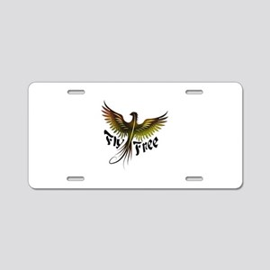 Fly Free - Phoenix Aluminum License Plate