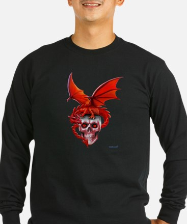 Skull Drangonry Long Sleeve T-Shirt