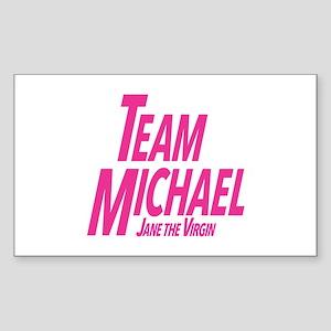 Jane The Virgin: Team Michael Sticker (Rectangle)