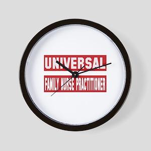 Universal Family Nurse Practitioner Wall Clock