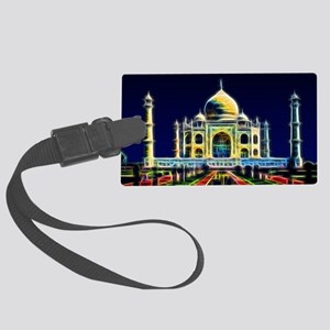 Taj Mahal, Agra, India Large Luggage Tag