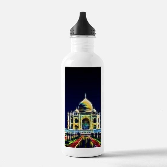 Taj Mahal, Agra, India Water Bottle