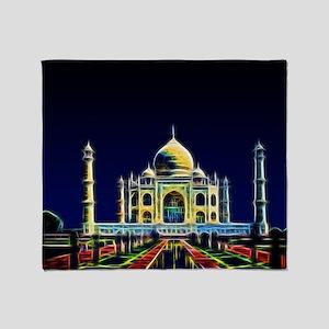 Taj Mahal, Agra, India Throw Blanket