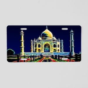 Taj Mahal, Agra, India Aluminum License Plate