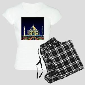 Taj Mahal, Agra, India Women's Light Pajamas