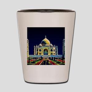 Taj Mahal, Agra, India Shot Glass