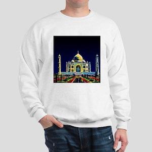 Taj Mahal, Agra, India Sweatshirt