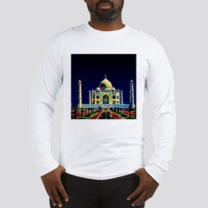 Taj Mahal, Agra, India Long Sleeve T-Shirt