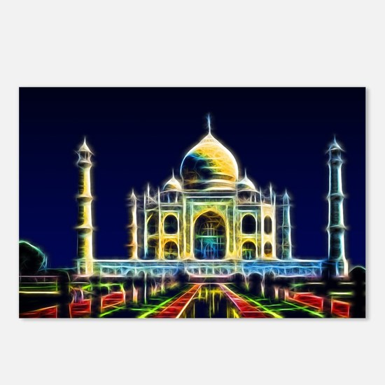 Taj Mahal, Agra, India Postcards (Package of 8)