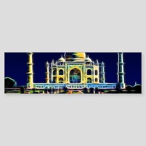 Taj Mahal, Agra, India Sticker (Bumper)
