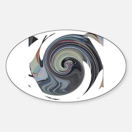 Cool Reminder Sticker (Oval)