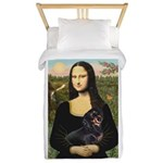 Mona Lisa/Dachshund (BT4) Twin Duvet