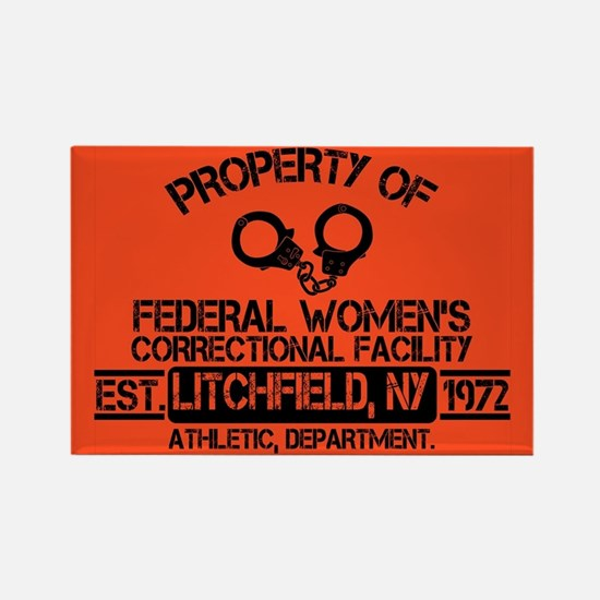OITNB Federal Womens Rectangle Magnet