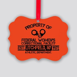 OITNB Federal Womens Picture Ornament