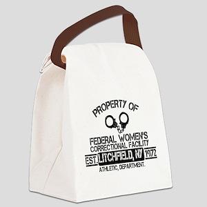 OITNB Federal Womens Canvas Lunch Bag